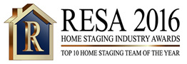 RESA 2016 Top 10 Home Staging Team of the Year